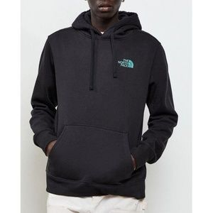 The North Face Men's Black Iridescent Hoodie  NEW